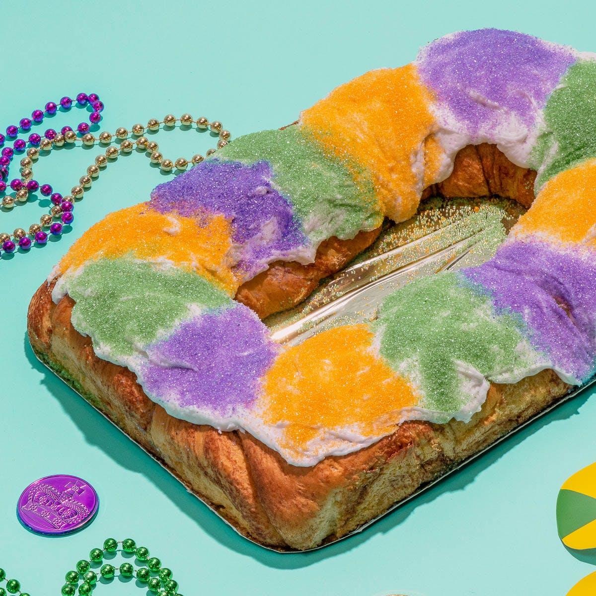 Gambino S Cream Cheese Filled King Cake By Gambino S Bakery King Cakes Goldbelly