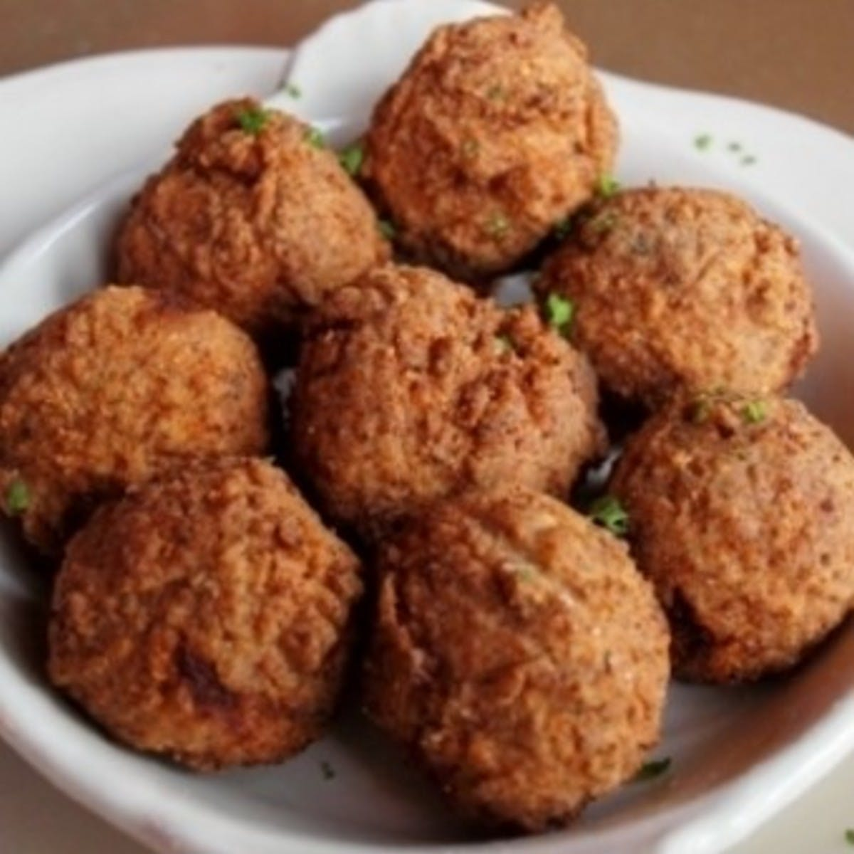 Pork Boudin Balls 2 Lb Package By Comeaux S Goldbelly