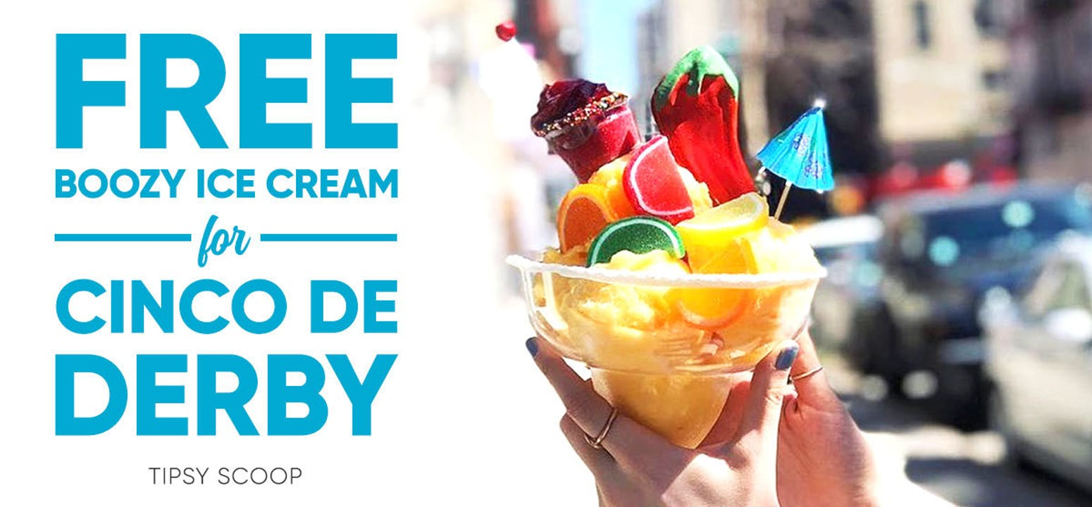 Tipsy Scoop Boozy Ice Cream - Buy 4 Pints Get 2 FREE!