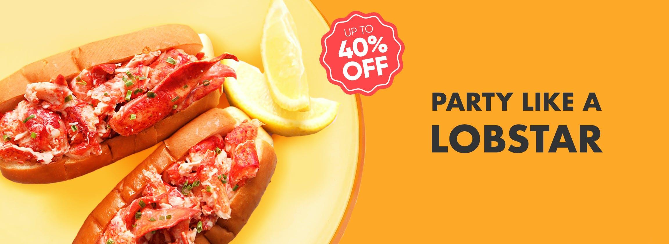 Hancock Lobster Roll Sale!