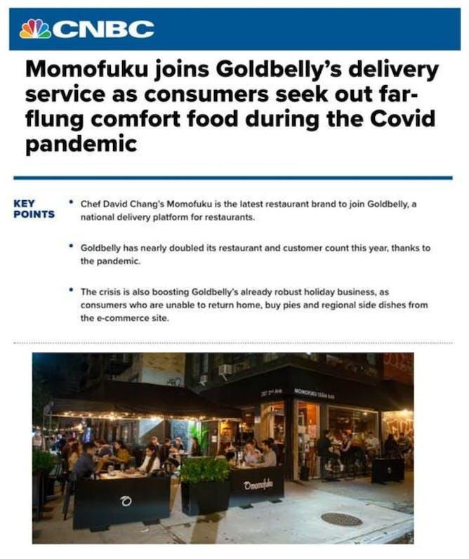 Momofuku Now Shipping on Goldbelly article thumbnail