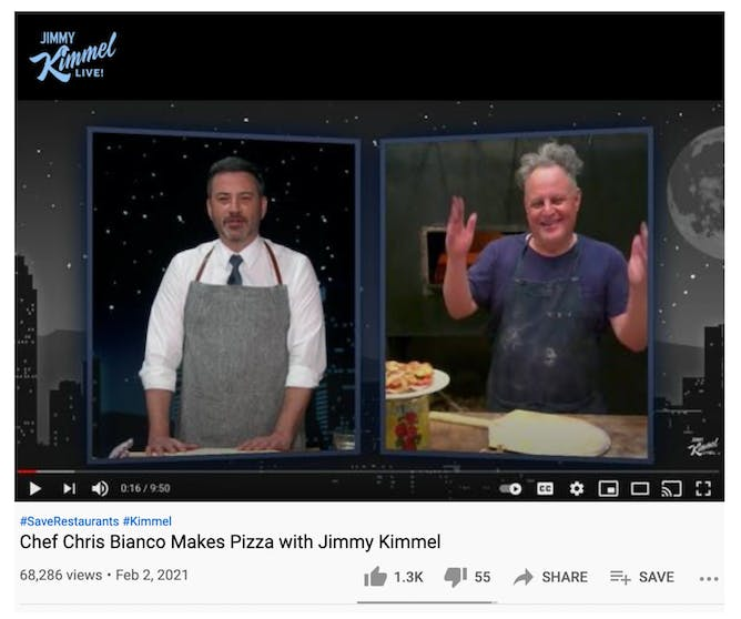 Chef Chris Bianco & Jimmy Kimmel Talk Goldbelly article thumbnail