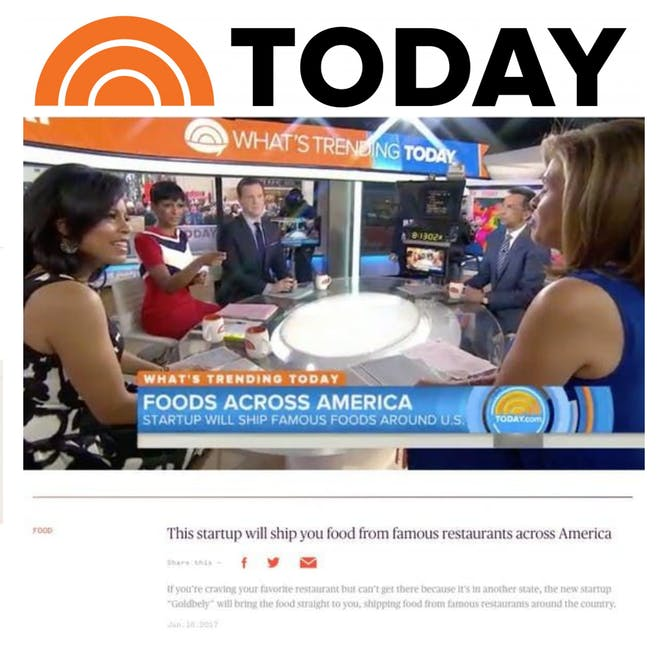 Goldbelly Featured on The Today Show article thumbnail