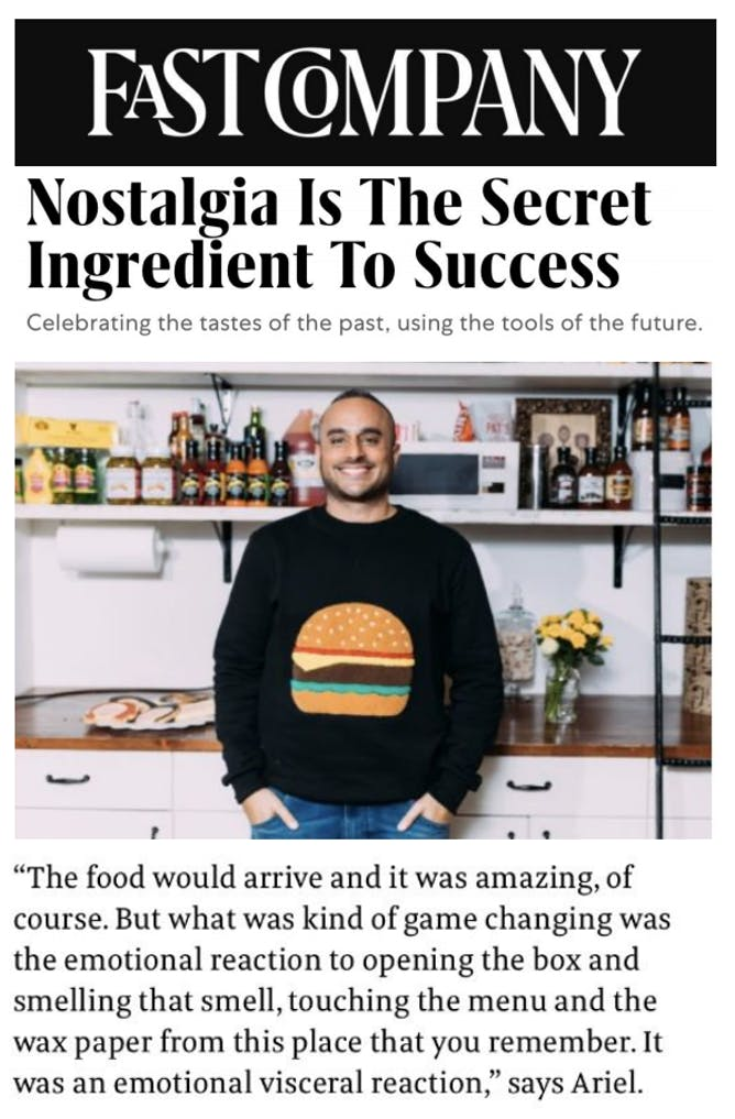 At Goldbelly, Nostalgia is the Secret To Success article thumbnail