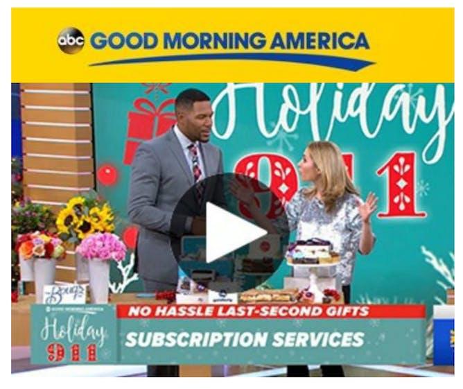 Goldbelly on GMA article thumbnail