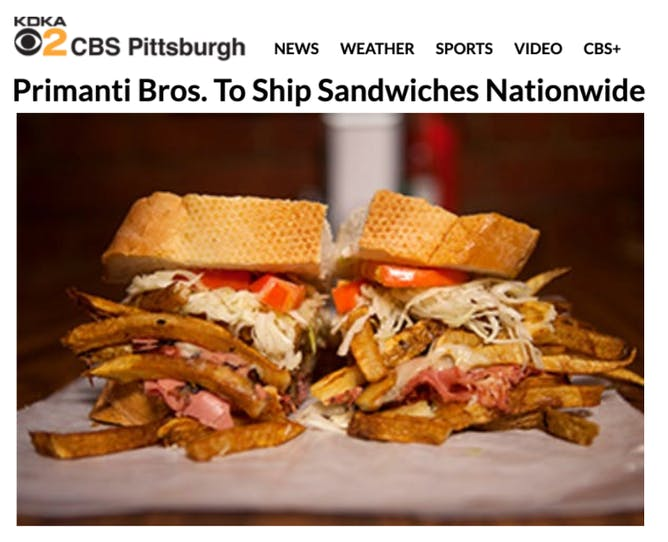 Primanti Bros Ships Nationwide article thumbnail