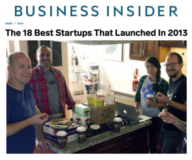 The Best Startups That Launched In 2013 article thumbnail