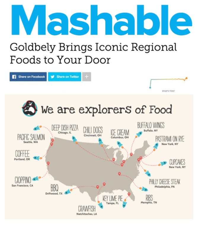 Goldbelly Brings Iconic Regional Foods to You article thumbnail