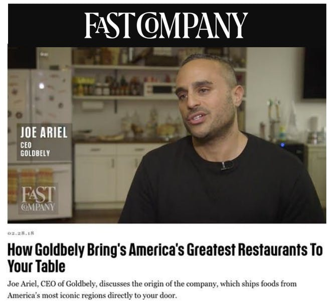 Goldbelly Brings America's Greatest Restaurants to Your Table article thumbnail