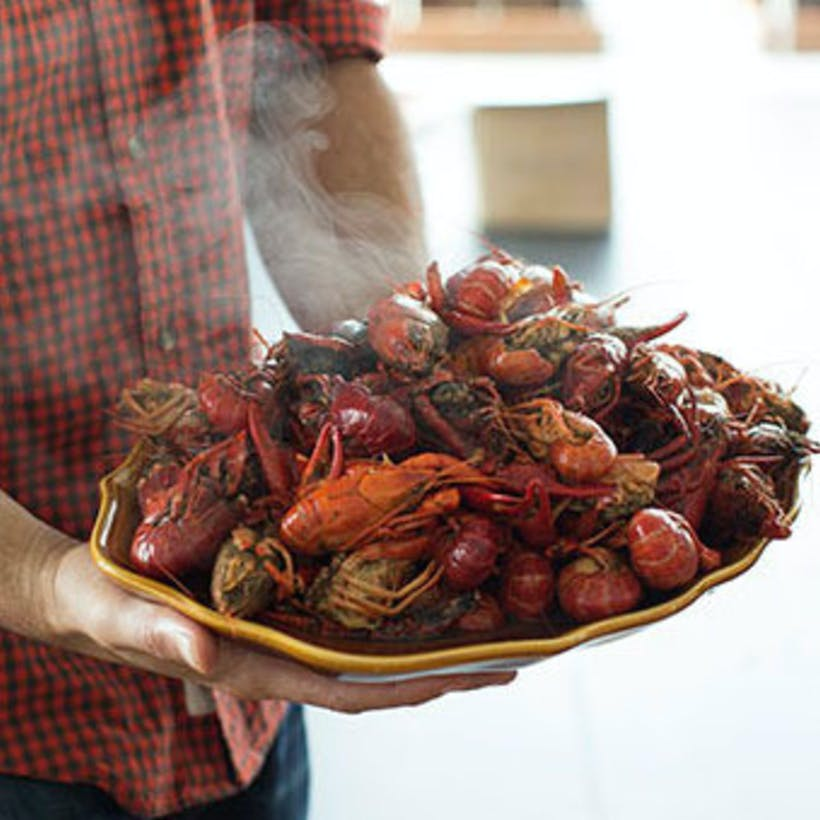 5lb Boiled Cajun Crawfish Party Pack