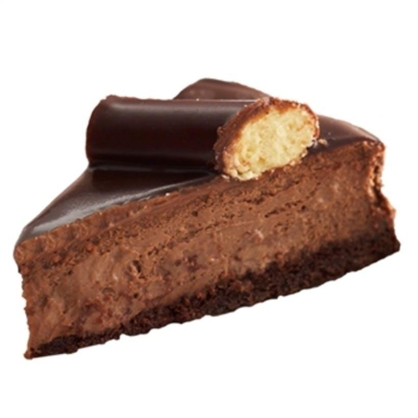 Chocolate Fudge Bumpy Cheesecake