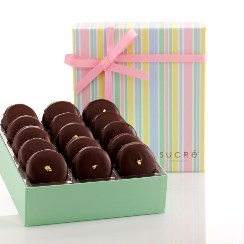 Chocolate Covered Macaron Collection