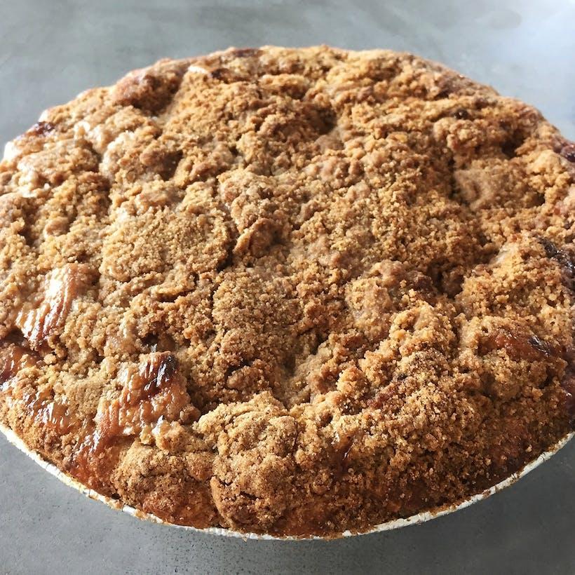 Apple Cranberry Crumb Pie