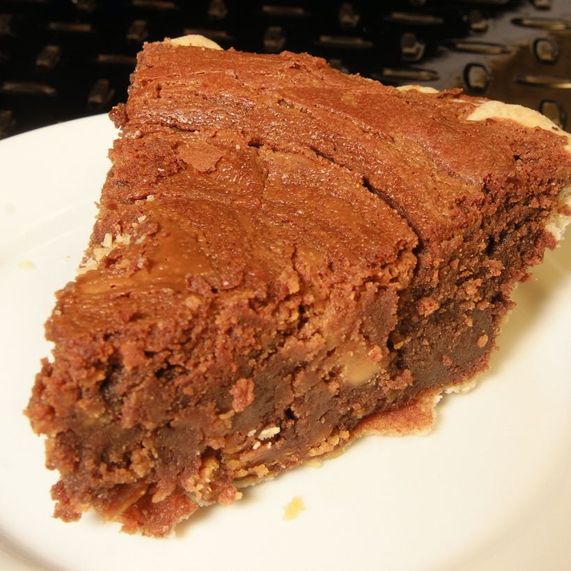 The Chocolate Chess Pie
