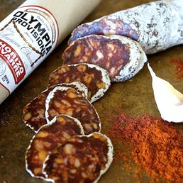 Spanish Salami Sampler with Red Gift Box