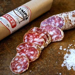 French Salami Sampler with Red Gift Box