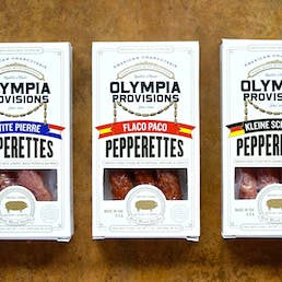 Pepperette & Summer Sausage Pack with Red Gift Box