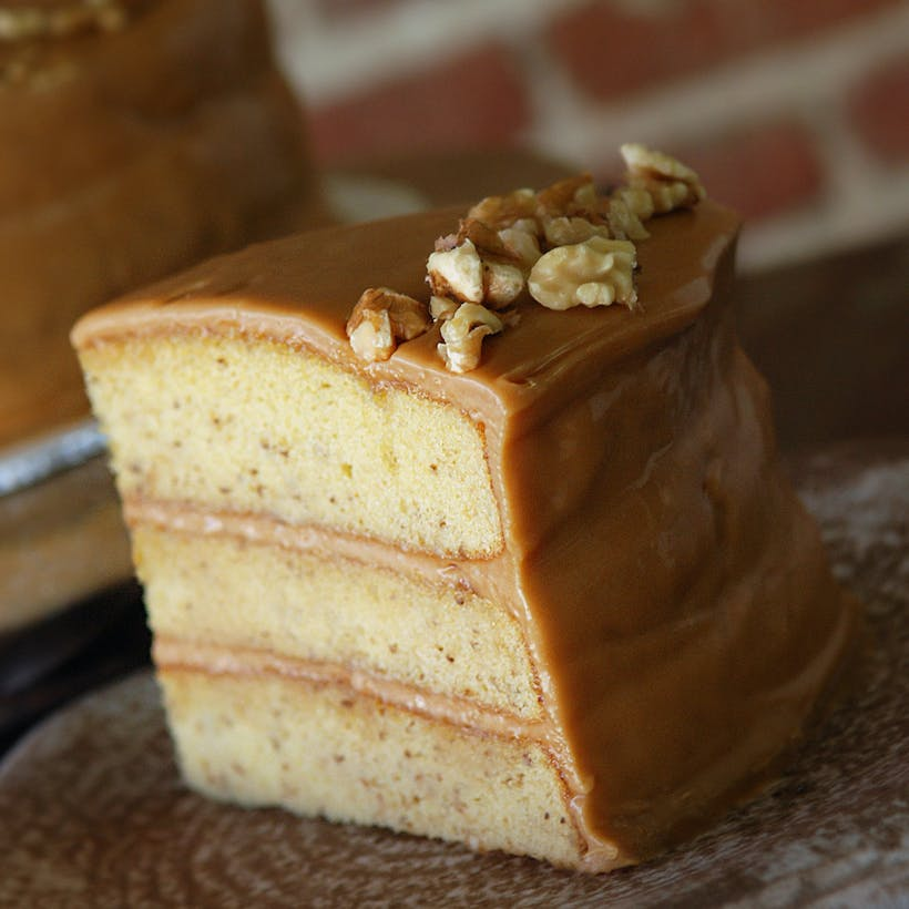 Banana Nut Walnut Cake
