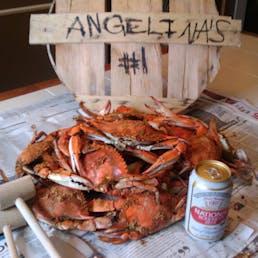 Full Bushel of Maryland Steamed Crabs