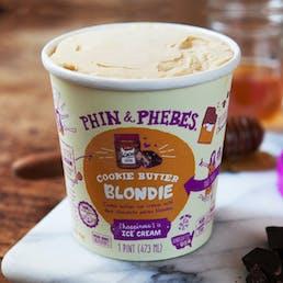 Cookie Butter Blondie Ice Cream