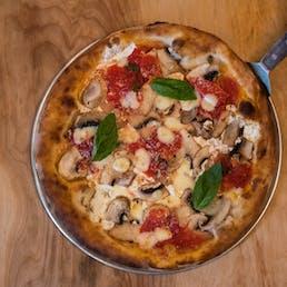 Coal Oven Mushroom Pizza - 4 Pies