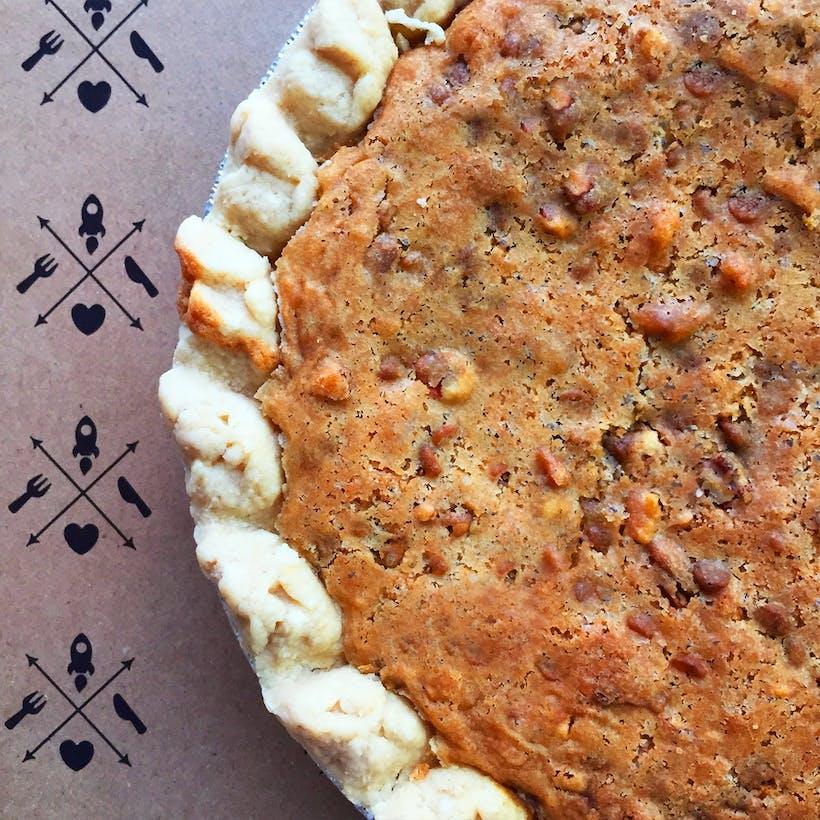 Bud's Butterscotch Chip Pie