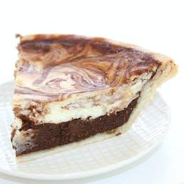 Black Bottom Chocolate Chess Pie