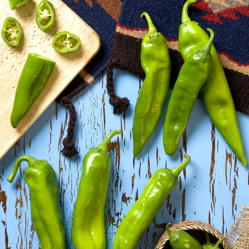 Fresh Hatch Green Chiles - Joe Parker (Medium)