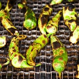 Roasted Hatch Green Chiles - Medium Hot