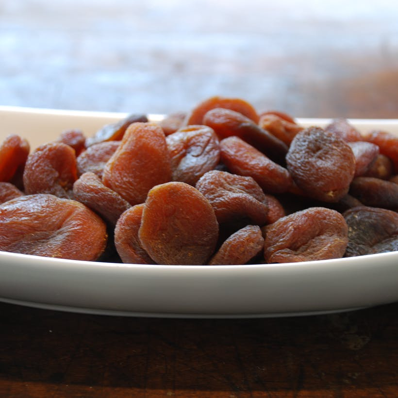 Dried Turkish Apricots - Natural