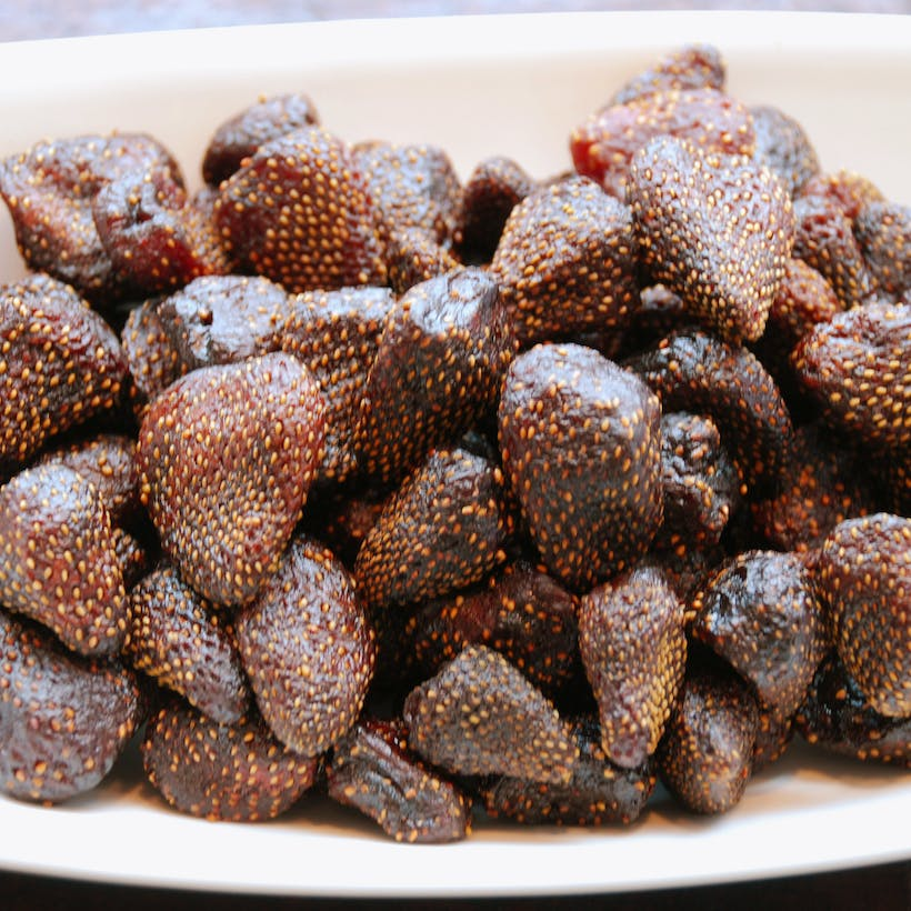 Dried Strawberries - Natural