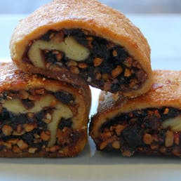 Traditional Raspberry Rugelach