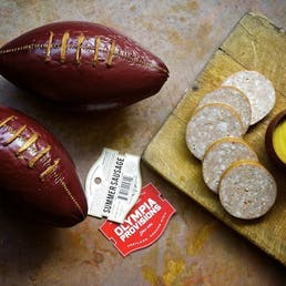 Summer Sausage Footballs - 2 Pack