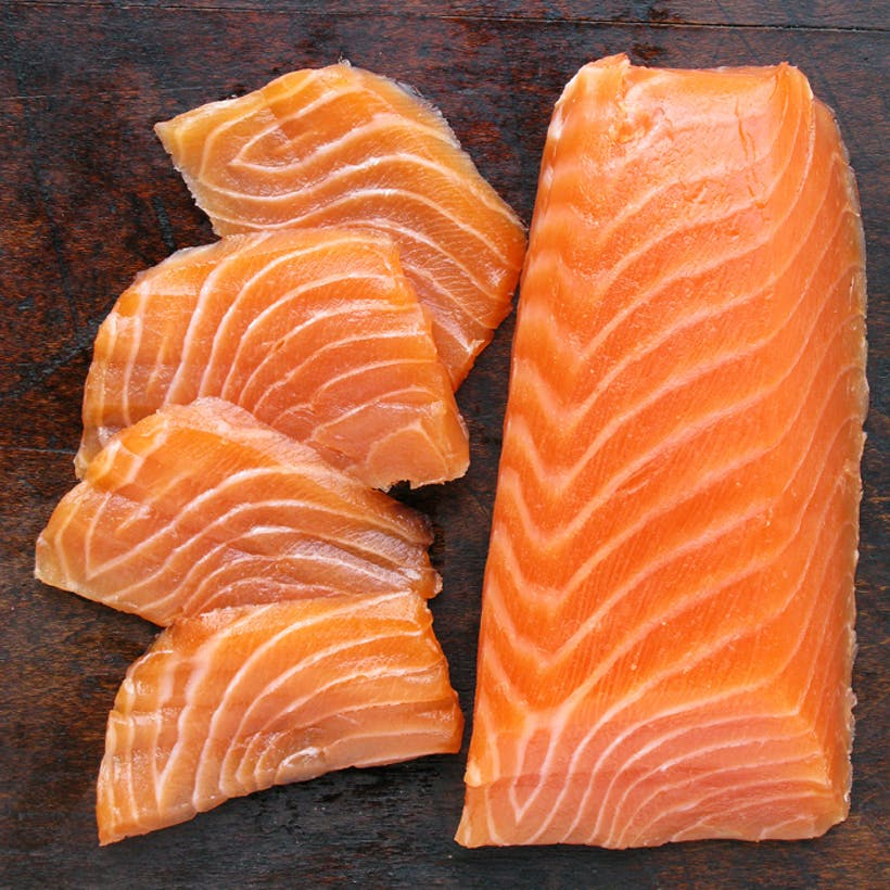 Loin Cut Smoked Salmon