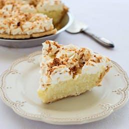 Torch Lake Coconut Cream Pie