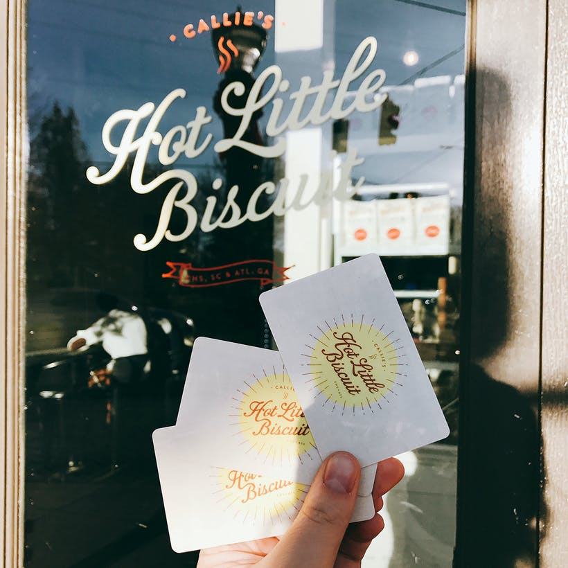 Callie's Hot Little Biscuit Gift Cards ( In Store Use Only)