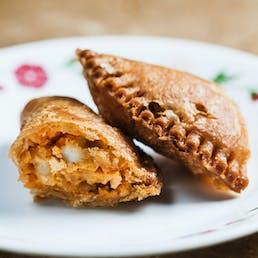 Buffalo Chicken and Blue Cheese Fried Pies
