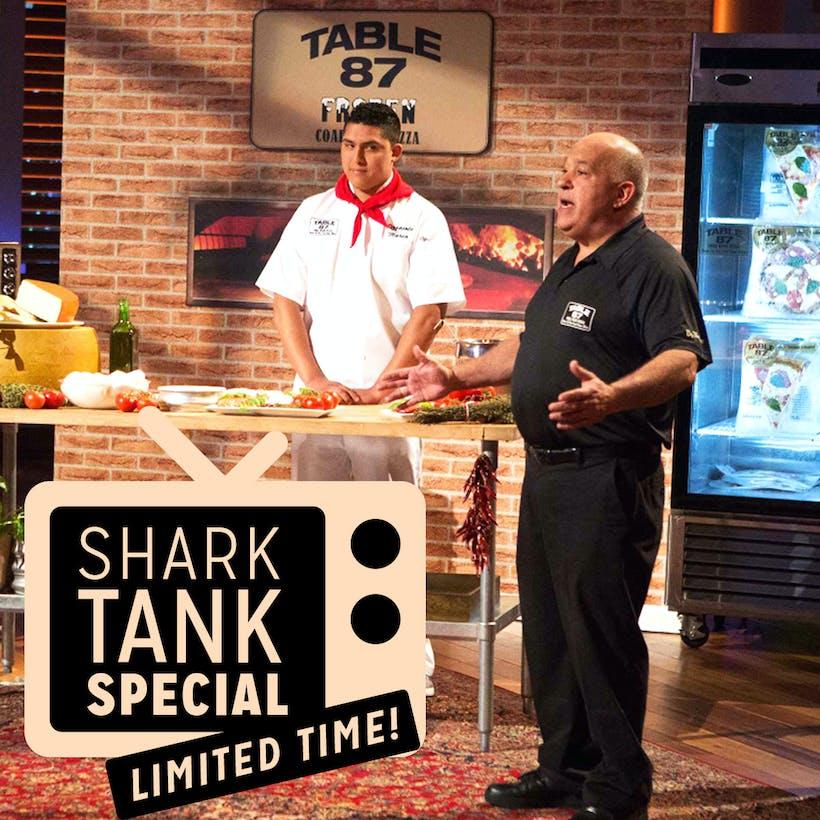 Shark Tank Special : NY Pizza Feast For 10