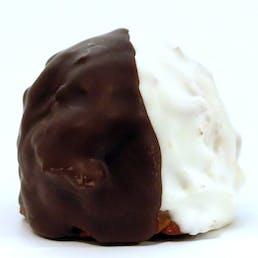 Black & White Cookie Macaroons