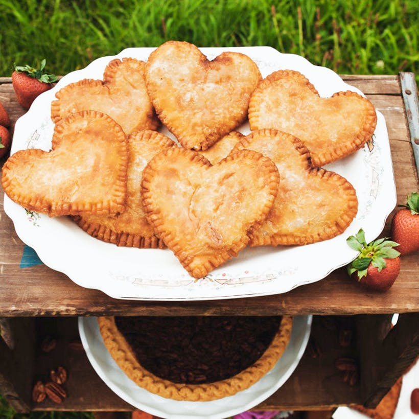 Heart Shaped Fried Pies
