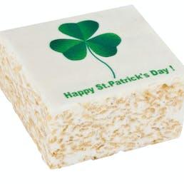 St Patrick's Day Marshmallow Crispycakes -  4 Pack
