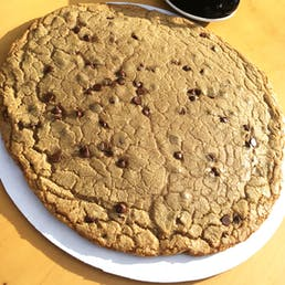 Giant 5lb Chocolate Chip Cookie