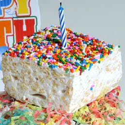 It's Your Birthday Marshmallow Crispycakes