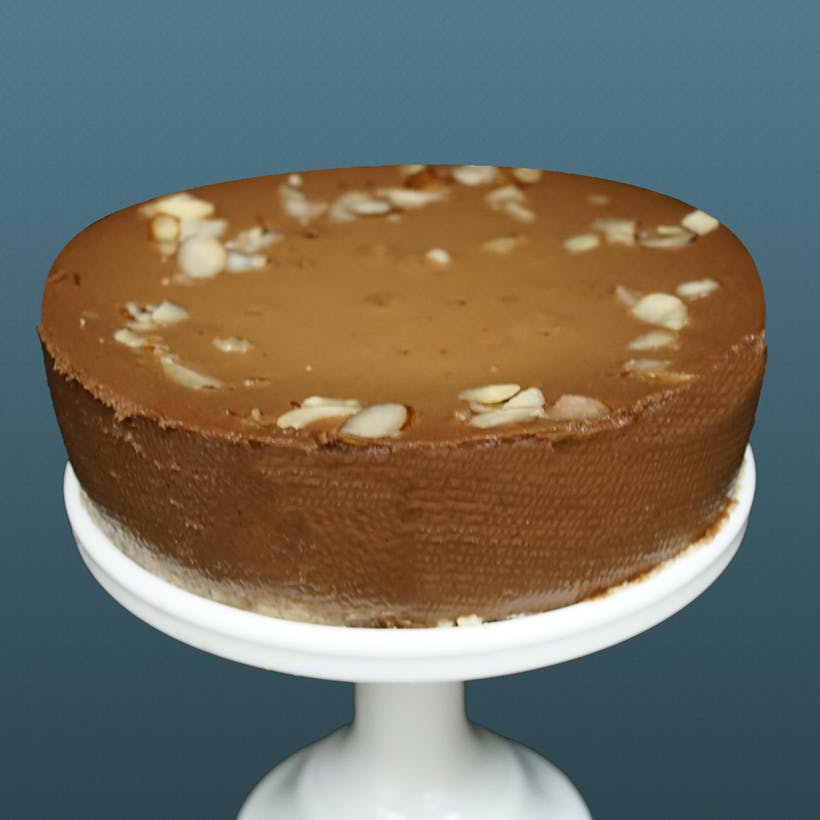 "Chocolate Amaretto Cheesecake - 6"""