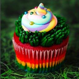 Unicorn Poop Cupcakes