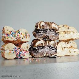 Overloaded Oreo Bagels + Cream Cheese