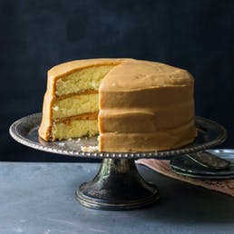 Mississippi Caramel Cake