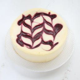 Raspberry Ripple Cheesecake - 6""