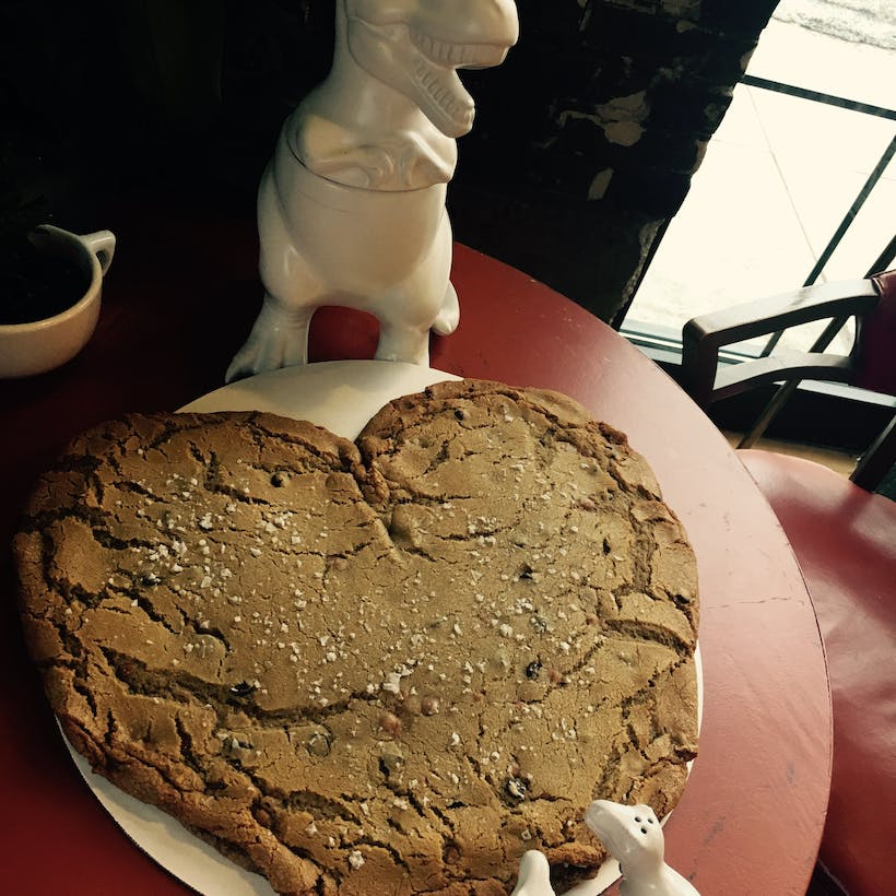 Giant 5lb Heart Cookie For Mother's Day