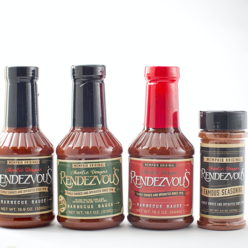 Choose Your Own Memphis BBQ Sauce + Seasoning
